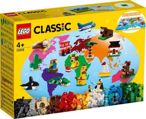 LEGO CLASSIC Cesta kolem světa 11015 STAVEBNICE