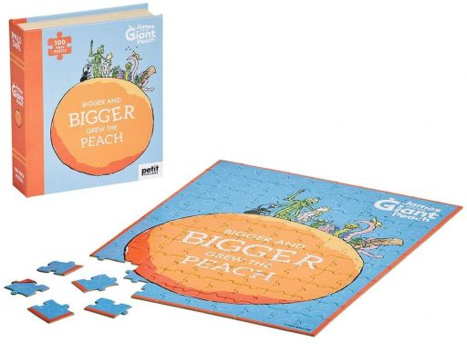 Petit Collage Puzzle Jakub a obří broskev