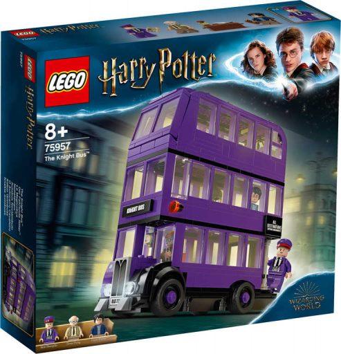 LEGO HARRY POTTER Záchranný kouzelnický autobus 75957 STAVEBNICE