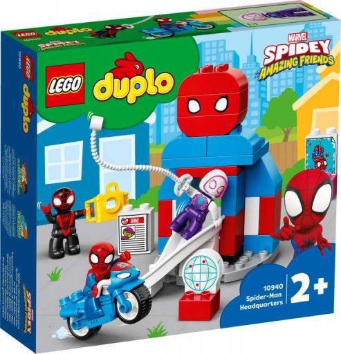 LEGO DUPLO Základna Spider-Mana 10940 STAVEBNICE
