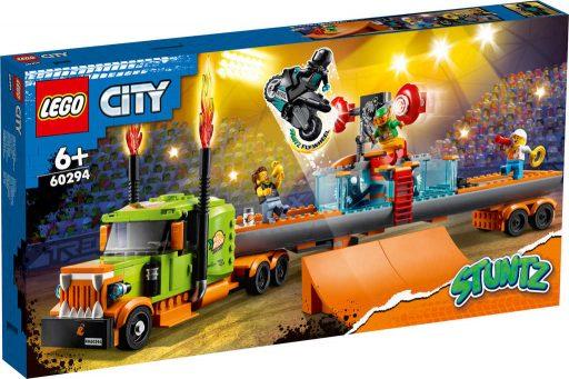 LEGO CITY Kaskadérský kamion 60294 STAVEBNICE