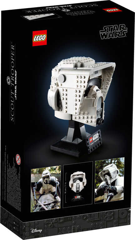 LEGO STAR WARS Helma průzkumného vojáka 75305 STAVEBNICE