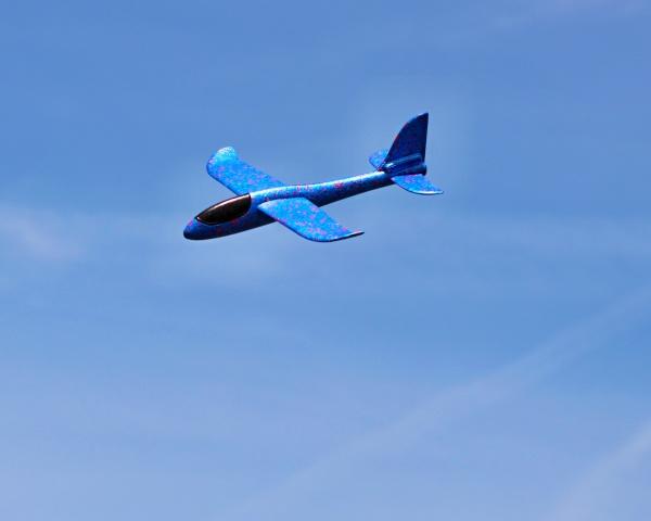 Pružné házedlo FLIP 48cm - modré