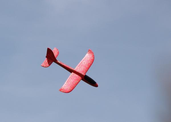 Pružné házedlo FLIP 48cm - červené