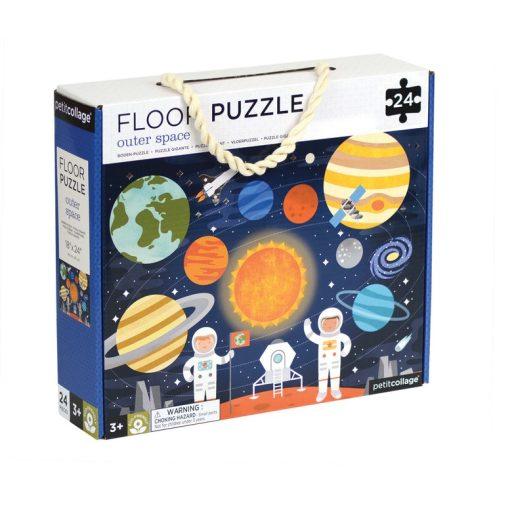 Petit Collage Podlahové puzzle Vesmír