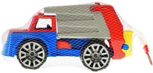 Auto nákladní barevné 32cm popeláři funkční volný chod na písek plast
