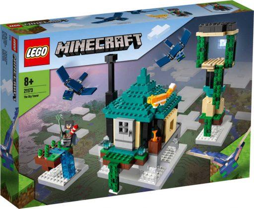 LEGO MINECRAFT Věž v oblacích 21173 STAVEBNICE