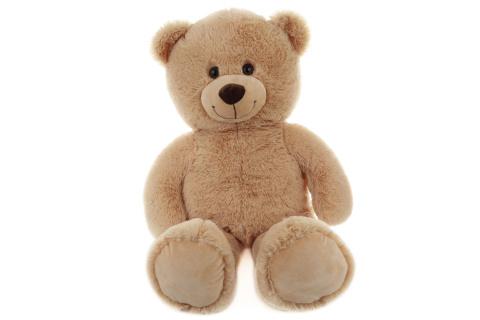 Plyš Medvěd 80 cm světlý