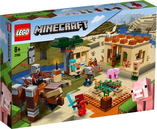 LEGO MINECRAFT Útok Illagerů 21160 STAVEBNICE