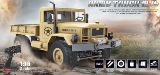 MZ-ARMY TRUCK M35 1/16