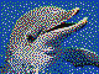 Quercetti Pixel Art 4 0805 6.800 ks