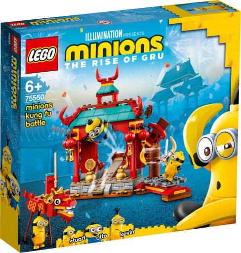 LEGO MINIONS Mimoňský kung-fu souboj 75550 STAVEBNICE