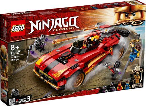 LEGO NINJAGO Kaiův červený bourák 71737 STAVEBNICE