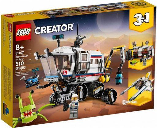 LEGO CREATOR Průzkumné vesmírné vozidlo 3v1 31107 STAVEBNICE