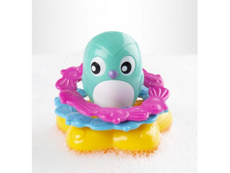 Playgro - Plovoucí tučňáček s kroužky