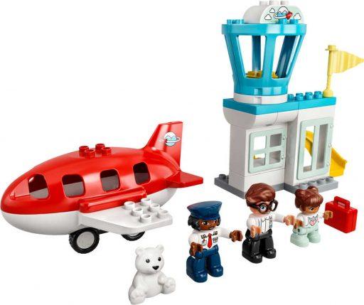 LEGO DUPLO Letadlo a letiště 10961 STAVEBNICE