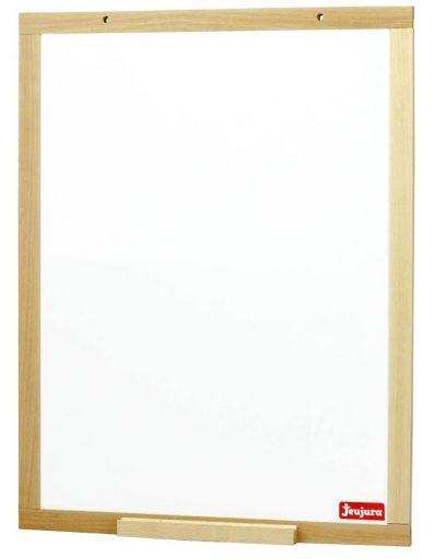 Jeujura Dřevěná nástěnná magnetická tabule 43x56 cm