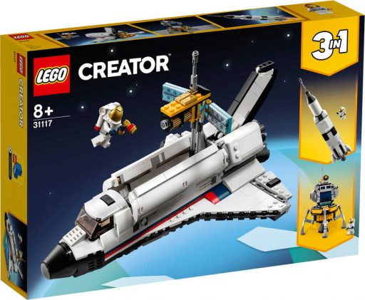 LEGO CREATOR Vesmírné dobrodružství s raketoplánem 3v1 31117 STAVEBNICE
