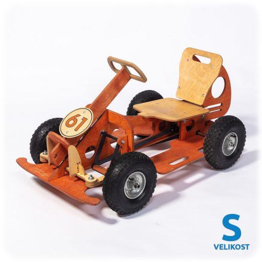 GOCar šlapací auto malé