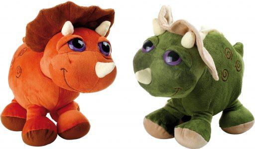 Small Foot Set Plyšový Triceratops 2 ks