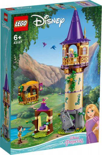 LEGO DISNEY PRINCESS Věž Lociky 43187 STAVEBNICE