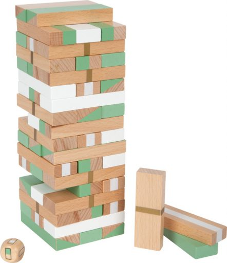 Small Foot Jenga věž Gold Edition