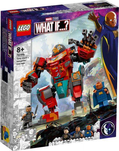 LEGO SUPER HEROES Sakaarianský Iron Man Tonyho Starka 76194 STAVEBNICE