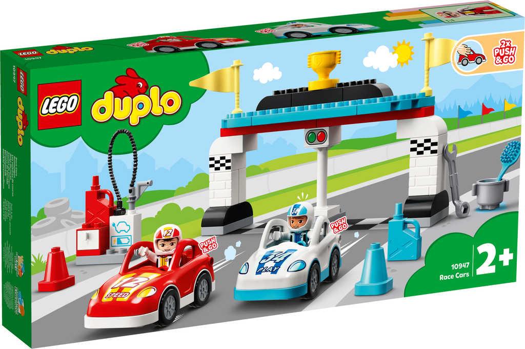 LEGO DUPLO Závodní auta 10947 STAVEBNICE