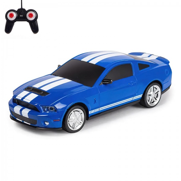 FORD MUSTANG SHELBY GT500 1:24 - modrý