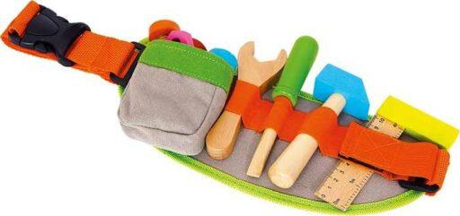 Small Foot Dřevěné hračky pás na nářadí