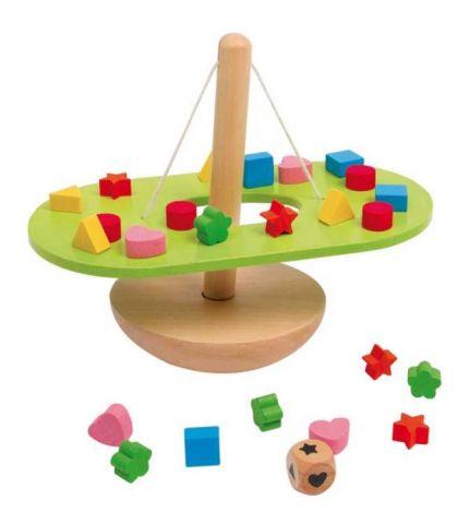 Small Foot Dřevěná motorická hračka Vyvažování balancující houpačka