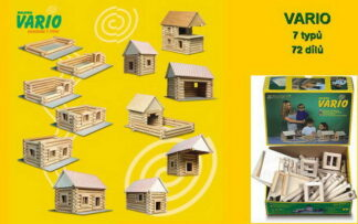 WALACHIA Vario 33W20 dřevěná stavebnice