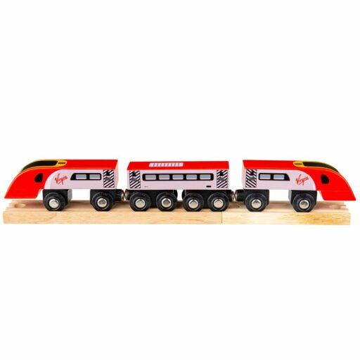 Bigjigs Rail Virgin Pendolino