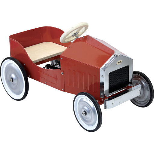 Vilac Kovové šlapací auto červené