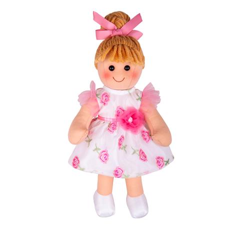 Bigjigs Toys Látková panenka Megan 34cm