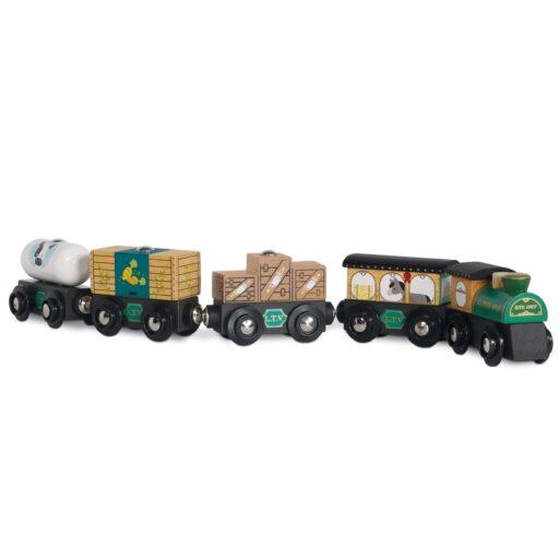 Le Toy Van Nákladní vlak Green