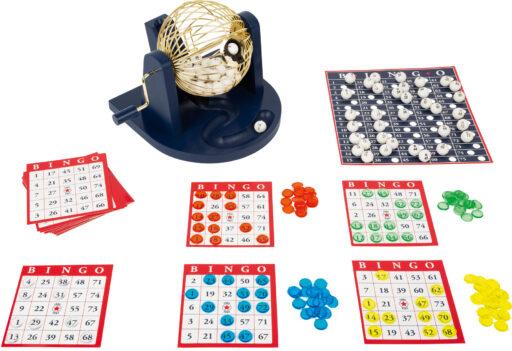 Small Foot Hra bingo s losovacím bubnem