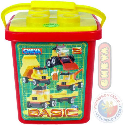 CHEMOPLAST CHEVA 02 Basic kbelík * Stavebnice *