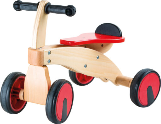Small Foot Dřevěné odrážedlo červený závodník