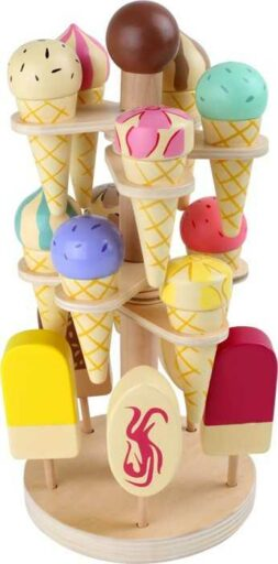 Small Foot Dřevěný zmrzlinový podstavec