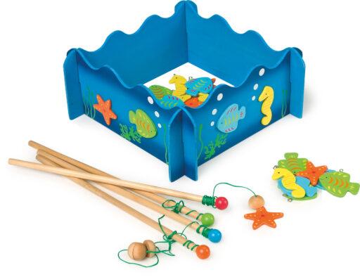 Small Foot Rybářská hra mořský svět