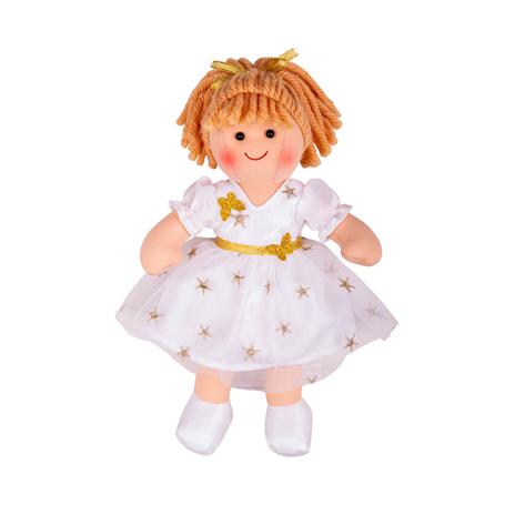 Bigjigs Toys Látková panenka Charlotte 28cm