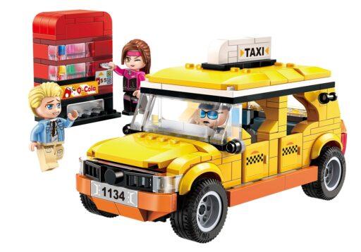 Qman Colorful City 1134 Taxi