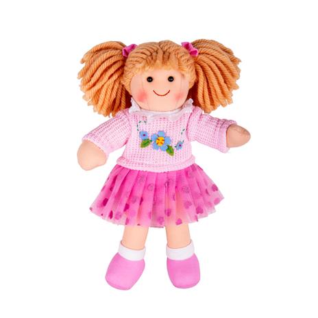 Bigjigs Toys Látková panenka Jasmin 28cm