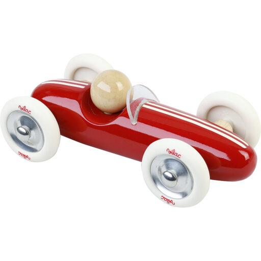 Vilac Dřevěné auto velké Grand prix vintage červené