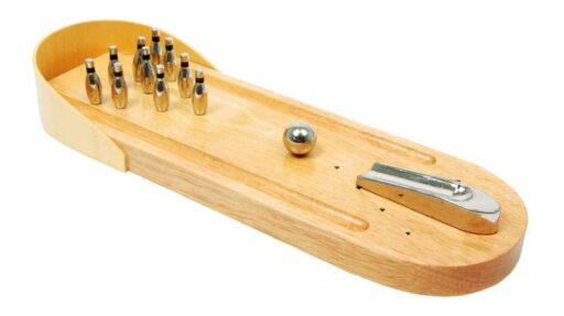 Small Foot Dřevěné hry stolní kuželky