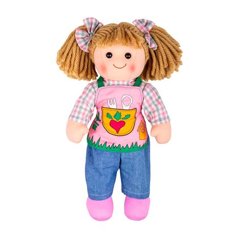 Bigjigs Toys Látková panenka Elsie 34cm