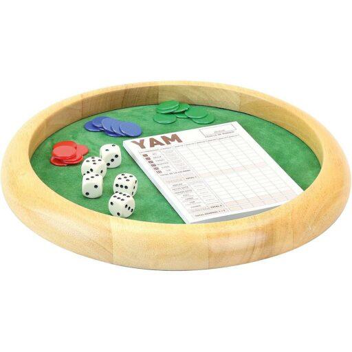 Jeujura Dřevěná kostková hra Yam