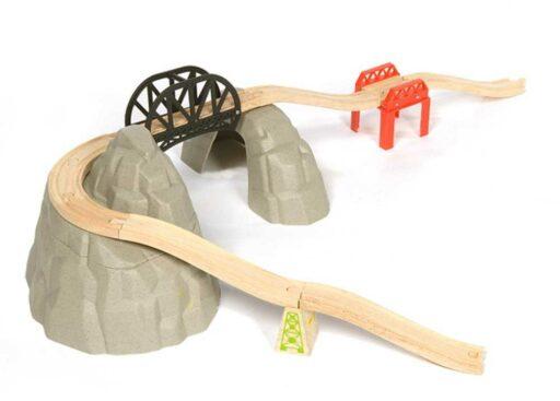 Bigjigs Rail Set vysokohorská dráha