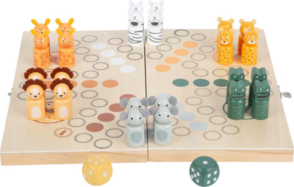 Small Foot Člověče nezlob se pro 6 hráčů Safari